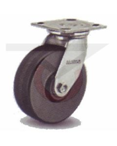 "Albion 16 Series Swivel Caster - Straight Sided Phenolic 5"" x 2"""