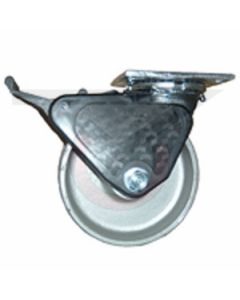 "Albion 16 Series Swivel Caster - Grip Lock Brake - Forged Steel 6"" x 2"""