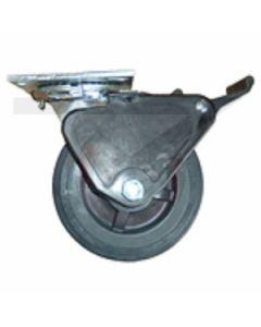 "Albion 16 Series Swivel Caster - Grip Lock Brake - Polyurethane - 4"" x 2"""