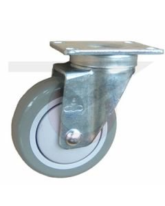 """#07 Swivel Caster - Poly on Poly 5"""" x 1-1/4"""""""