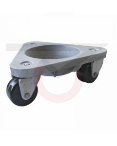 3310-PH Three Wheel Dolly - Phenolic Wheels - 750 lb. Capacity