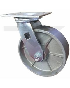 "Economy Swivel Caster - Cast Iron 3.25"" x 2"""