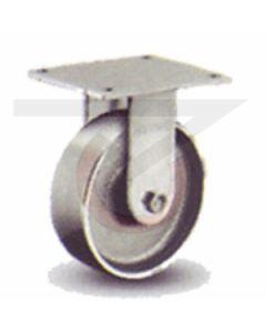 "61 Series Rigid Caster - Forged Steel 4"" x 1-1/2"""