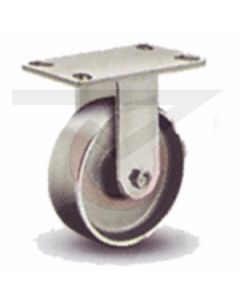 "62 Series Rigid Caster - Forged Steel 4"" x 1-1/2"""