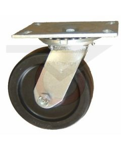 "62 Series Swivel Caster - Neoprene 6"" x 2"""