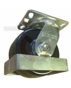 "81 Series Swivel Caster - Toe Guard - 6"" x 3"" Phenolic"