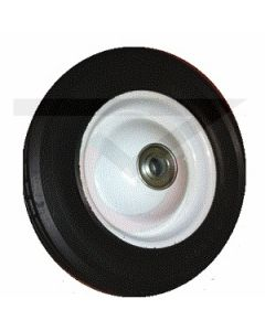 "Rubber on Steel - 12"" x 1-3/4"" w/ 5/8"" Ball Bearings"