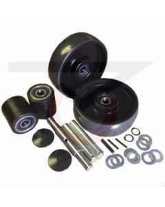 "CE Clarke Pallet Jack Wheel Kit with 2.9"" Load Rollers"