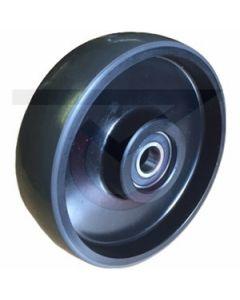 """CE Clarke Pallet Jack Steer Wheel - 7"""" x 2"""" x 20mm"""