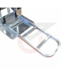 "Folding Nose Extension - 30"" Channel Aluminum"