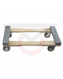 "Rubber Padded Furniture Dolly - 18"" x 30"""