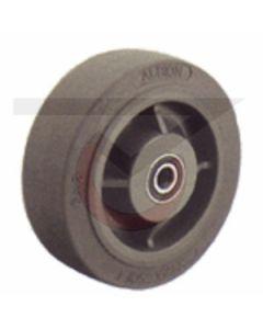 """HD Gray Rubber - 5"""" x 2"""" (375 lb. Cap)"""
