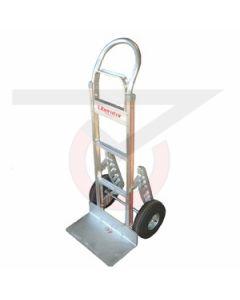 "Aluminum Hand Truck - Loop Handle - 10"" Pneumatic Wheels"