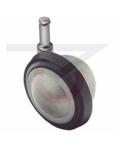 """2-1/4"""" Ball Caster - Unfinished - 7/16""""x7/8"""" Grip Ring Stem"""