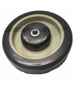 "Shopping Cart Replacement Wheel - 5"" x 1-1/4"" x 5/16"" Polyurethane"