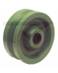 """V-Groove Polyurethane - 4"""" x 2""""(300 lb. Cap)"""