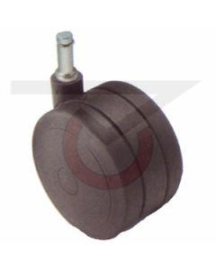 "2-1/4"" Softech Black - 7/16"" x 7/8"" Grip Ring Stem (100 lb. Capacity)"