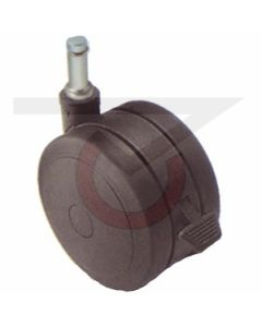 "2"" Softech Black w/ Brake - 7/16"" x 7/8"" Grip Ring Stem (75 lb. Capacity)"