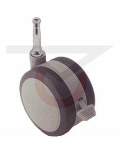 "2"" Softech Gray w/Brake - Grip Neck Stem (75 lb. Capacity)"
