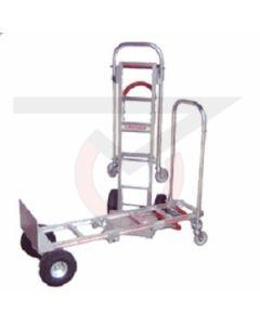"Sr. Convertible Hand Truck - 10"" Flat Free Wheels"