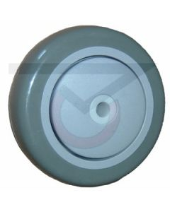 "Polyurethane on Polypropylene Wheel - 3-1/2"" x 1-1/4"" (250 lb. Cap)"