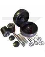 "CE Clarke Pallet Jack Wheel Kit with 2.9"" Load Rollers"
